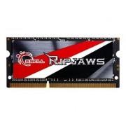 G.Skill Ripjaws F3-1600C9S-4GRSL - DDR3L - 4 Go - SO DIMM 204 broches - 1600 MHz / PC3-12800 - CL9 - 1.35 V - mémoire sans tampon - non ECC