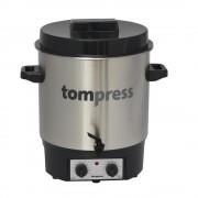 Sterilizator electric din inox, cu robinet si temporizator, Tom Press