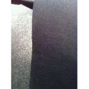 Toile noire thermocollante rigide renfort sac au metre