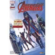 All-New Avengers N° 5, Octobre 2016 - Effrayante Symétrie - Couverture 1/2