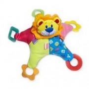 Baby Mix rágókás plüssjáték - oroszlán