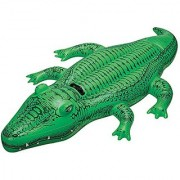 Intex Childrens Large Inflatable Ride On Lil Gator 1.68m Swimming Pool Fun