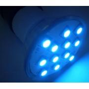 Spot cu 12x5050-SC, albastru, E14
