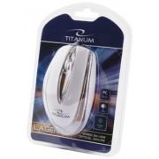 Mouse Cu Fir TITANUM TM111W Optic Alb