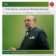Fritz Reiner - Reiner Conducts Richard Strauss (0886976869922) (5 CD)