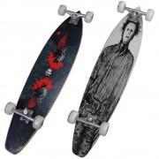 Skate Longboard Abec7 93cm Truck Blindado rodas 70mm 4657