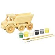 Masterpieces Masterpieces Wood Paint Kit, John Deere Dump Truck