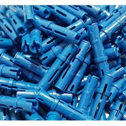 LEGO Technic Pin Long Blue Connector Mindstorm NXT Part 6558 (Quantity 150)