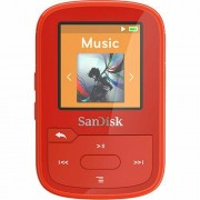 SanDisk 16GB Red Clip Sport Plus Global MP3 player (SDMX28-016G-G46R) SDMX28-016G-G46R