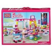 Mega Bloks Barbie build n play bakery shop building set includes: 2 Barbie Mini-fashion figures and fab accessories pl