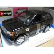 Burago 1/18 scale Diecast 18-12069 Range Rover Sport black