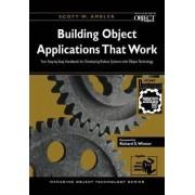 Building Object Applications that Work by Scott W. Ambler