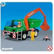 PLAYMOBIL 7655 - Camion travaux et ouvriers