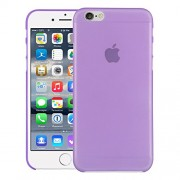Quicksand Air skin Super Thin Matte Finish Anti Slip Back Case Cover for Apple iPhone 6 Plus Purple