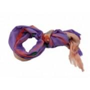 Šála dvoubarevná fialová/béžová 8040-1 8040-1
