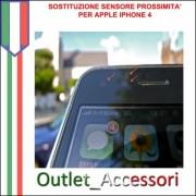 Sostituzione Riparazione Sensore Prosimita Luminosita Movimento per Apple Iphone 4