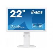 iiyama ProLite B2280HS-W1 21,5' LED LCD 1920x1080 13cm Height adj 250cd/m² 12M:1 ACR speakers HDMI DVI VGA 5ms TCO6