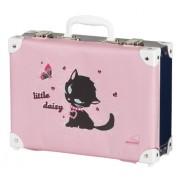 Schneiders Vienna Valigia per bambini Koffer Little Daisy, rosa - rosa, 49930/52