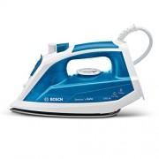 Bosch TDA1023010 Sensixx'x DA10 - Plancha de vapor, 2.300 W, golpe de vapor 120 g, base Palladium Glissèe, color azul