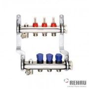 Distribuitor cu debitmetre REHAU HKV-D 1 tol - 4 circuite