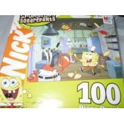 SpongeBob Squarepants 100 Piece Puzzle - Juggling at the Krusty Krab by Nickelodeon by Nickelodeon