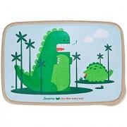 Beatrix New York Rice Fiber Bento Box: Percival and Alister (Dinos) Green One Size