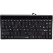 Tastatura cu fir, USB, negru, HAMA Slimline Mini SL720
