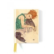 Seated Woman by Egon Schiele (Foiled Journal)