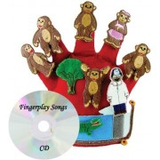 Get Ready Kids Glove Puppet Set: Monkeys Jumping on The Bed by Get Ready Kids