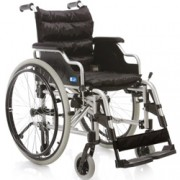 sedia a rotelle / carrozzina pieghevole ad autospinta - struttura legg