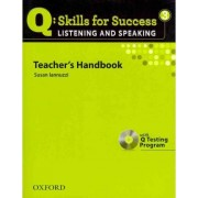 Q Skills for Success: Listening and Speaking 3: Teacher's Book with Testing Program CD-ROM by Miles Craven