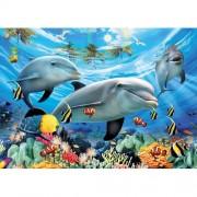 Ravensburger puzzle delfini, 300 piese