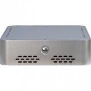 Carcasa Q-6 , MiniITX, Sursa 60W Externa, Argintiu