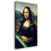 Leonardo da Vinci: Mona Lisa, La Gioconda (20x30 cm, Vászonkép )