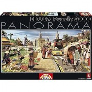 Educa Borras Global World Panorama Puzzle (3000 Piece) One Color