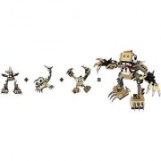 LEGO Mixels Series 3 Bundle Set of Spikels Footi (41521) Scorpi (41522) and Hoogi (41523)