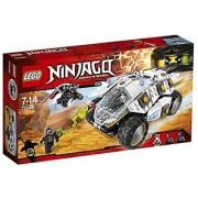 Lego Ninja Go titanium type power Mobil 70588