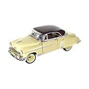 "Motormax GOTZMM73268YL 1:24 Scale Yellow ""1950 Chevrolet Bel Air"" Die Cast Model Car"