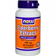 Elderberry Extract 500mg - 60 vcaps