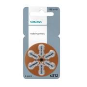 Baterii auditive zinc-aer Siemens S 312