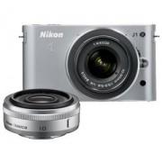 Digitalni fotoaparat J1 + 10MM F/2.8 Silver Set NIKON