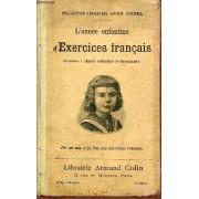 L'annee Enfantine D'exercices Francais - Correspondant A L'annee Enfantine De Grammaire - Collection Enfantine Jean Bedel / 8e Edition.