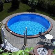 Laguna medence kerek 6m/1,5m (fóliavastagság 0,6mm)