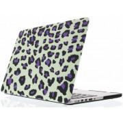 Paarse panterprint design hardshell voor de MacBook Pro 15.4 inch
