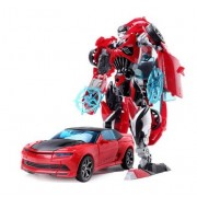 New Akira 2 in 1 Cars Toys Cool Classic Toys Anime action figures for kids (Red)