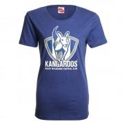 AFL Ladies Printed Logo Tee Kangaroos [Size:10]