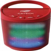 C3 Tech SP-B50 Caixa Multimídia Bluetooth 8w Rms Vermelha