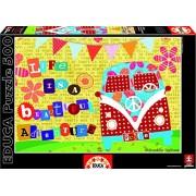 Educa - 16278 - Puzzle Classique - Life Is A Beautiful Adventure - 500 Pièces