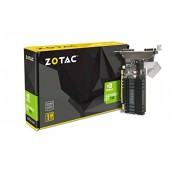 ZOTAC GeForce GT 710 1GB DDR3 PCI-E2.0 DL-DVI VGA HDMI Passive Cooled Single Slot Low Profile Graphics Card (ZT-71301-20L)