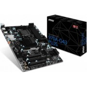 Placa de baza MSI 970A-G43 Plus Socket AM3+